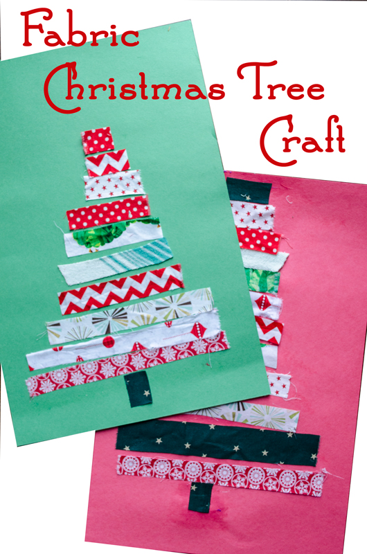 Fabric Christmas Tree Craft