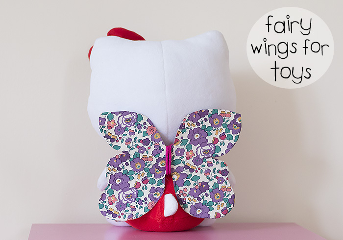 How To Make Fairy Wings For Toys