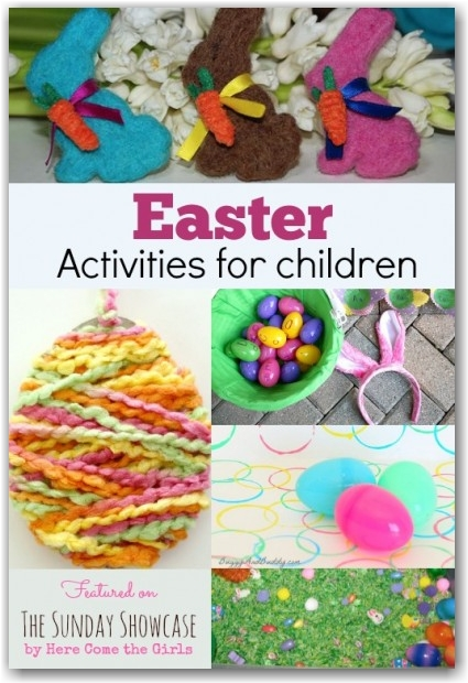 Children's Activities for Easter - Here Come the Girls