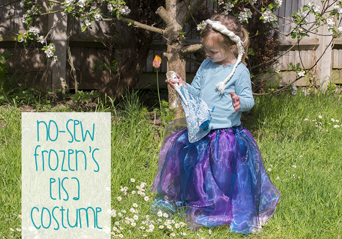 How To Make A No-Sew Queen Elsa Costume
