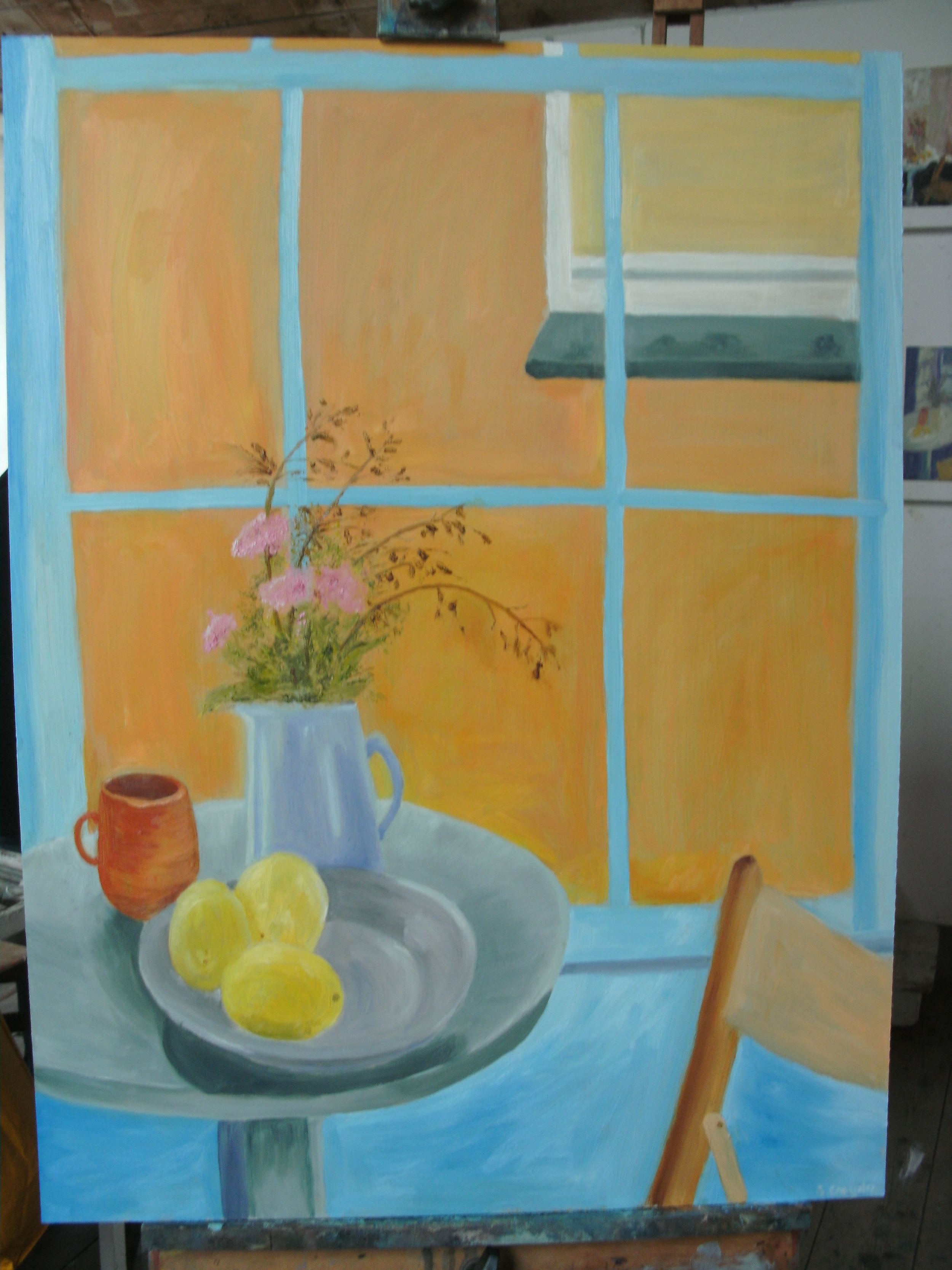 Inside Outside, Oil Painting at St Ives School of Painting