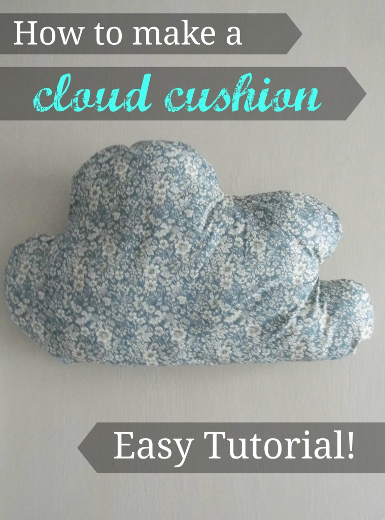 Cloud cushion tutorial