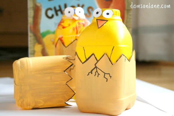 Kids Easter Craft Hatching Chick