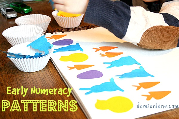 Early Years Maths Sorting and Patterns