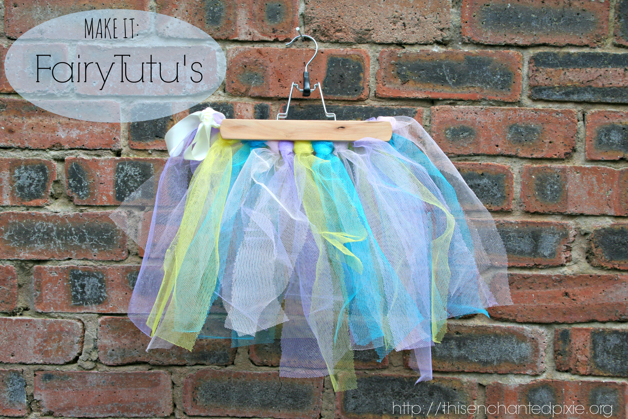 No-sew Fairy Tutu's - This Enchanted Pixie //