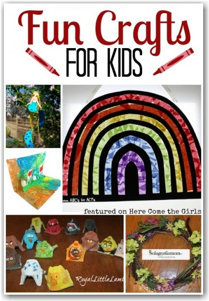 Fun Crafts for Kids - Here Come the Girls