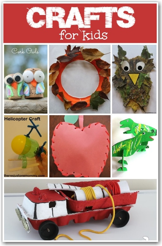 Crafts for Kids - Here Come the Girls