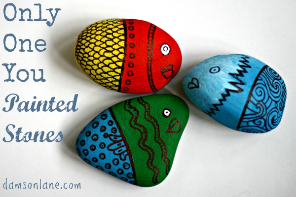 Painted Stones Craft for Kids