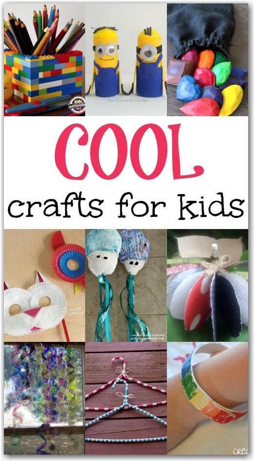 Cool Crafts for Kids - Here Come the Girls