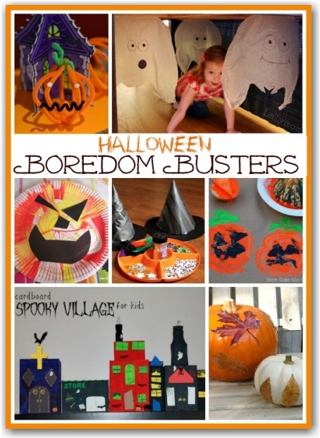 Halloween Boredom Busters - Here Come the Girls