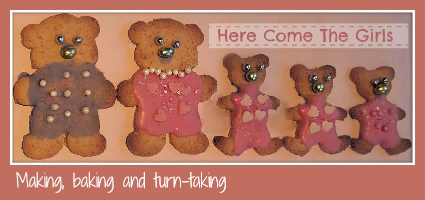 Mother's Day Card for Young Children - Here Come the Girls