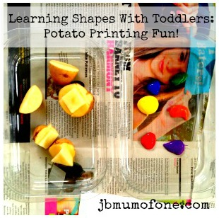 Shape Recognition With Potato Printing