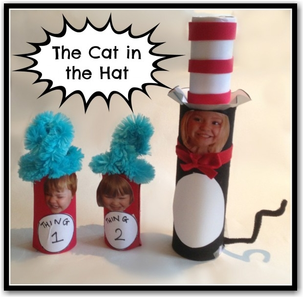 The Cat in the Hat Craft - Here Come the Girls