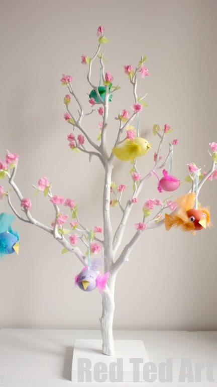 Red Ted Art's Blog » Blog Archive Easter Tree Decorating Ideas