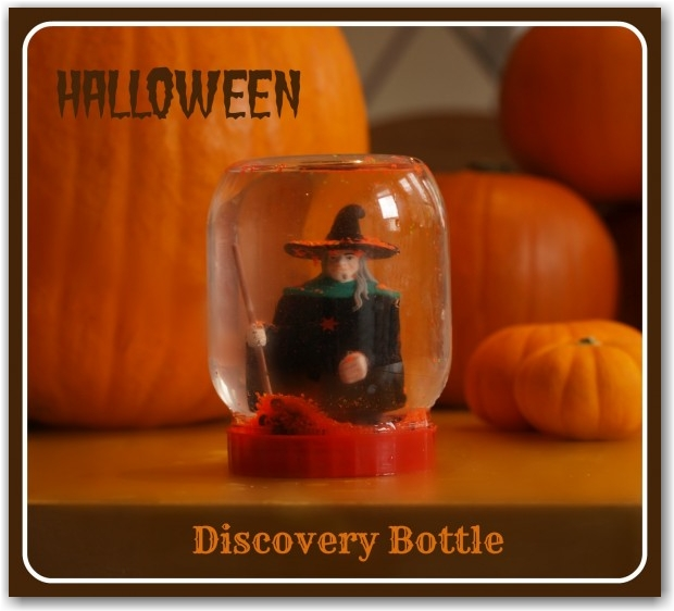 Halloween Discovery Bottle - Here Come the Girls