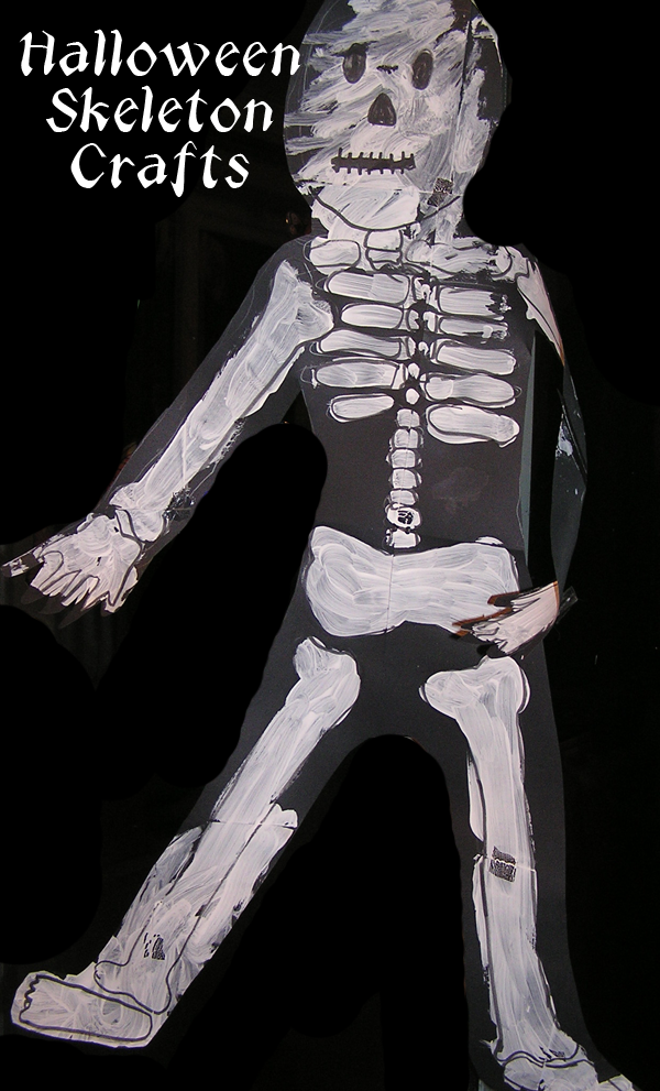 Simple Halloween Skeletons for Toddlers and PreschoolersRainy Day Mum
