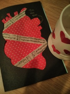 Frugally Ever After: Anatomical Heart Card