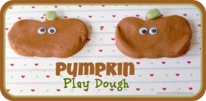 Pumpkin Play dough - Guest post - Here Come the Girls