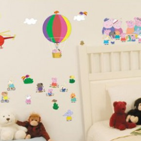 Peppa Pig, Manchester United and More Wall Stickers Now in Stock
