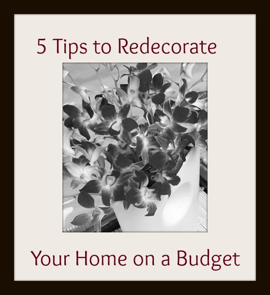 5 Tips on how to redecorate your home on a budget