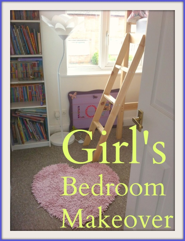 Home Makeover on a Budget: Girls Bedroom Final reveal