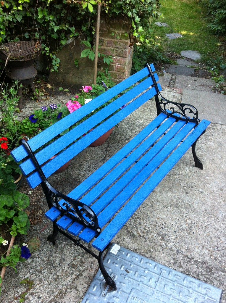 A girl called K and her bench