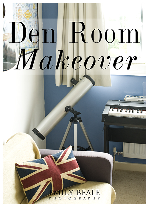 Den Room Makeover » Emily Beale Photography