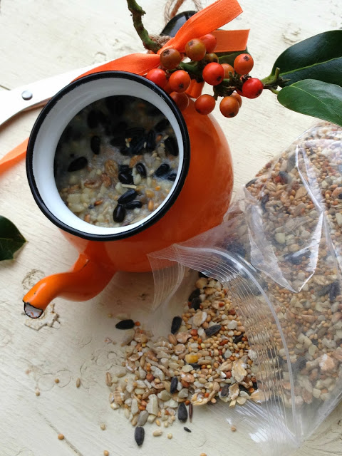 Upcycled Kitchenlia Bird Feeders