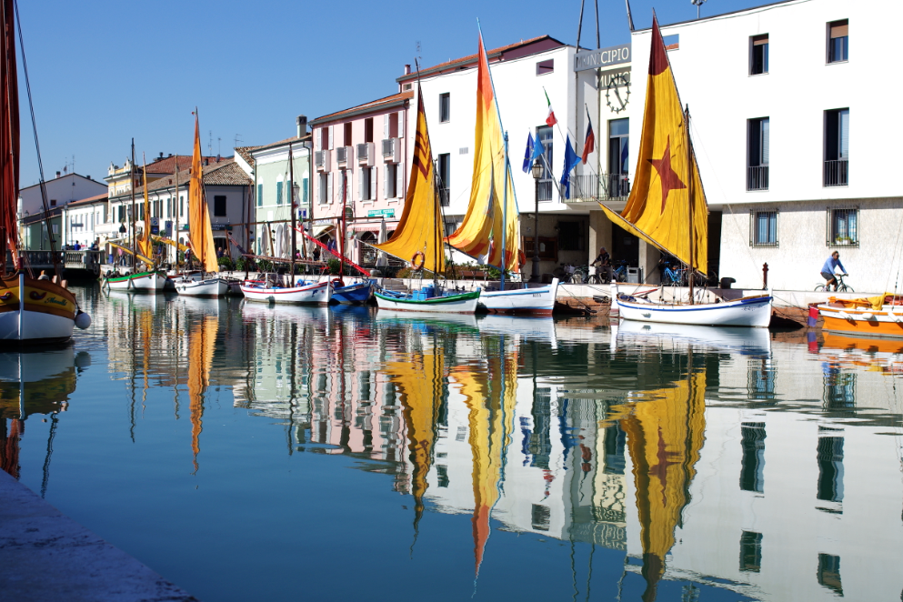 A long weekend in Cesenatico, Italy…