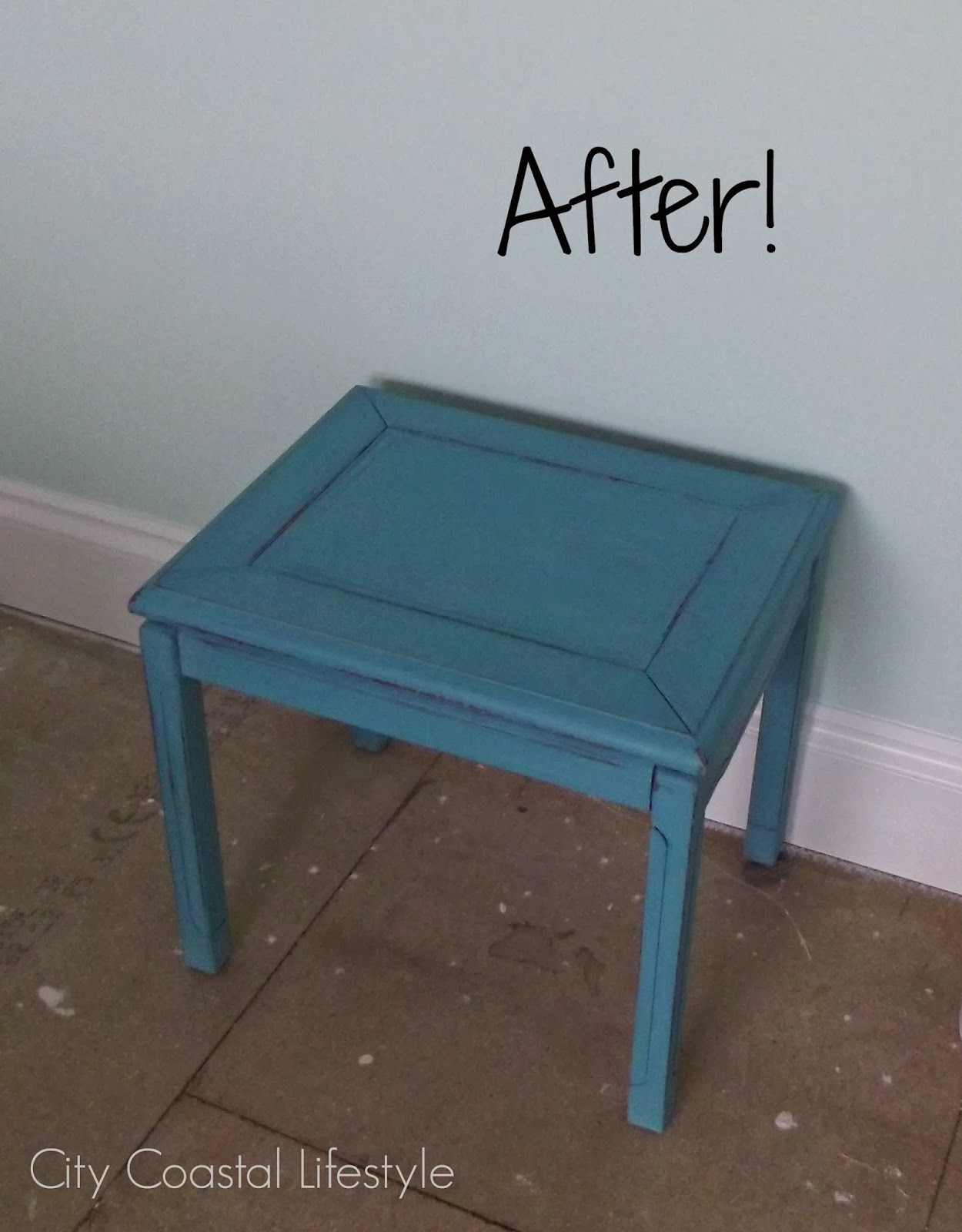 Furniture Painting - a revival