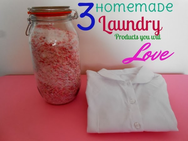3 Homemade Laundry products you will love