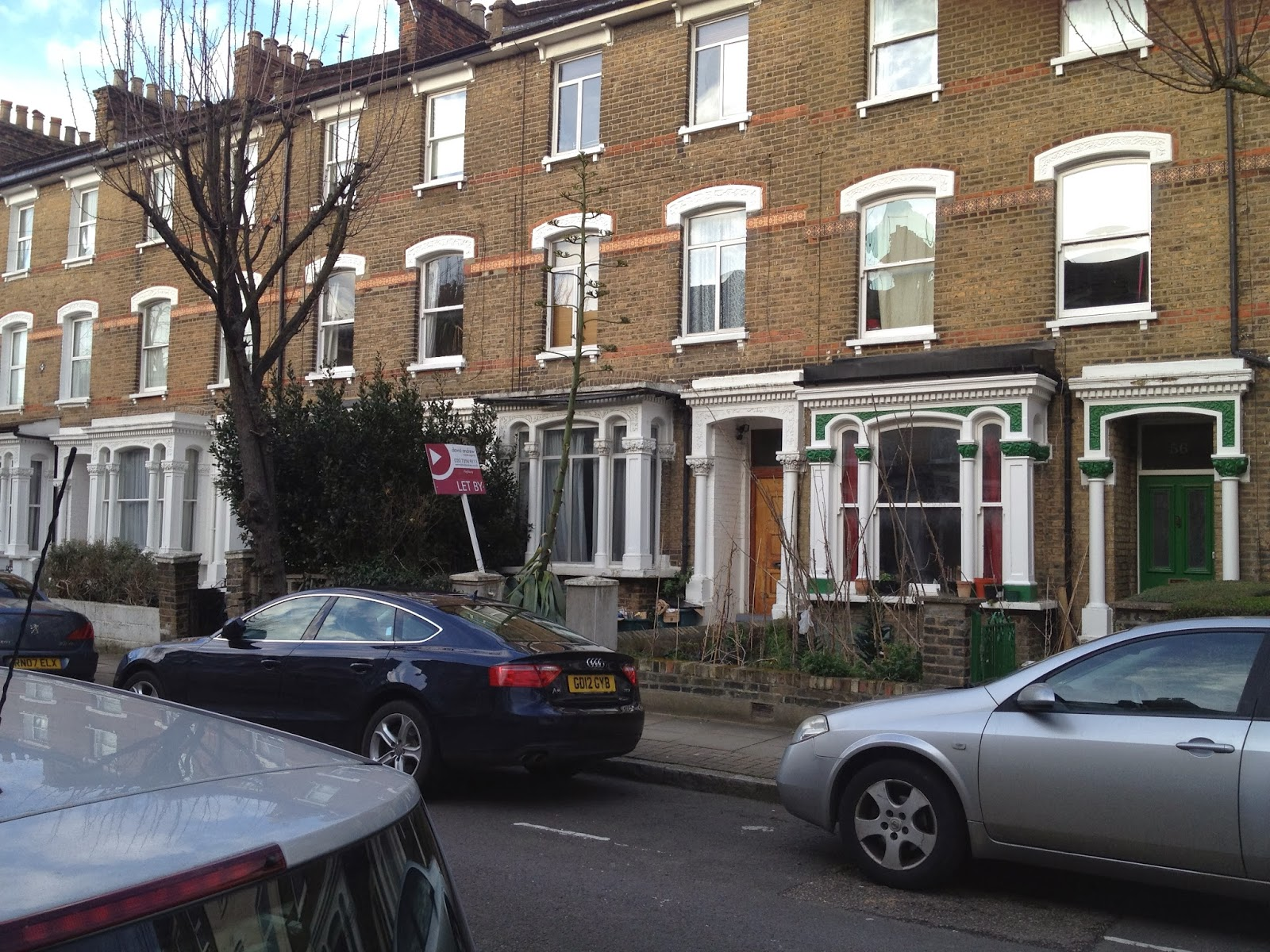House hunting in London