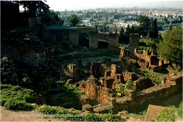 The UNESCO World Heritage Site Of Carthage