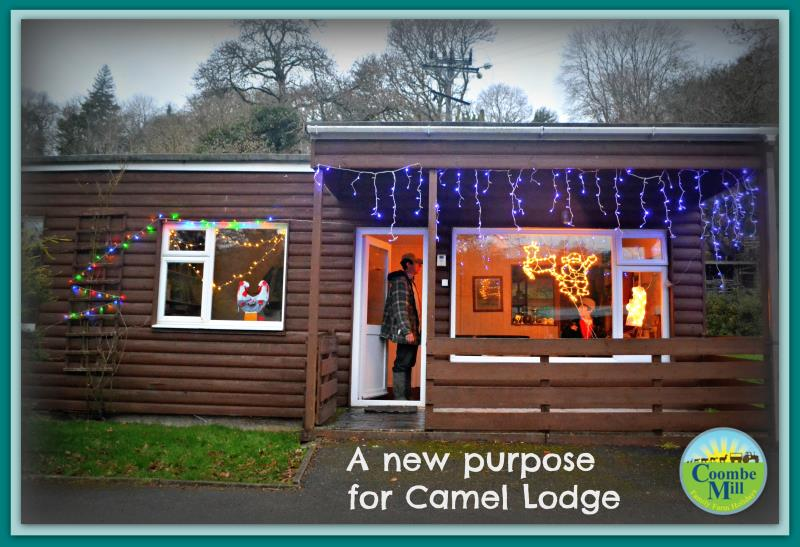 From holiday lodge to Reception Shop