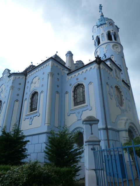 The Blue Church, Bratislava - The Lou Messugo Blog