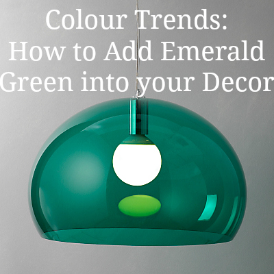 Colour Trends: How to add Emerald Green into your Home