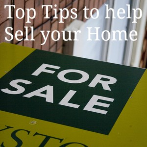 5 Top Tips to help Sell your Home