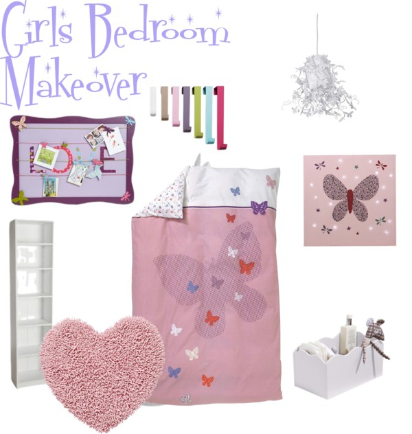 Home Makeover on a Budget : Girls Bedroom Part 3