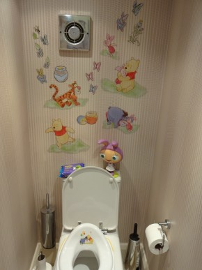 Wall Stickers for Toilet Training