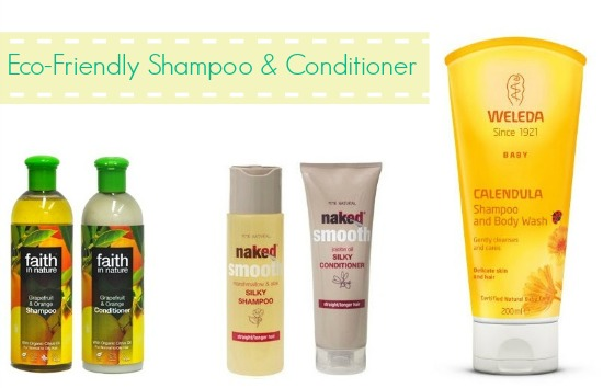 Affordable Eco-Friendly Shampoo and Conditioners