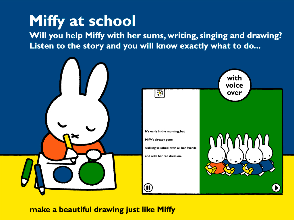 App Review: Miffy at School