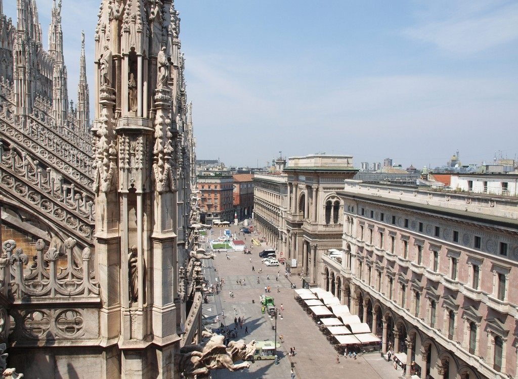 Photo of the city of Milan