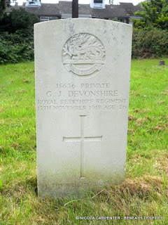 War Grave Wednesday - G. J. Devonshire