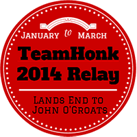 Team Honk Relay 2014 - a Lesson in Honking