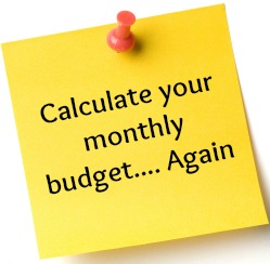 Get Organised – the free printable budget planner edition….