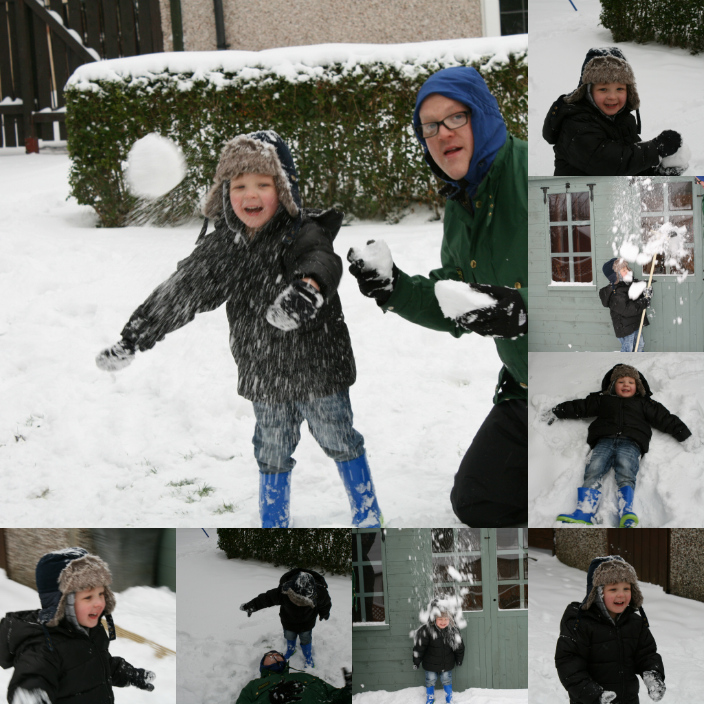 Snow is awesome when you are 3 (or 30)