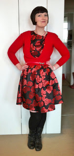 Outfit post: Feeling rosey