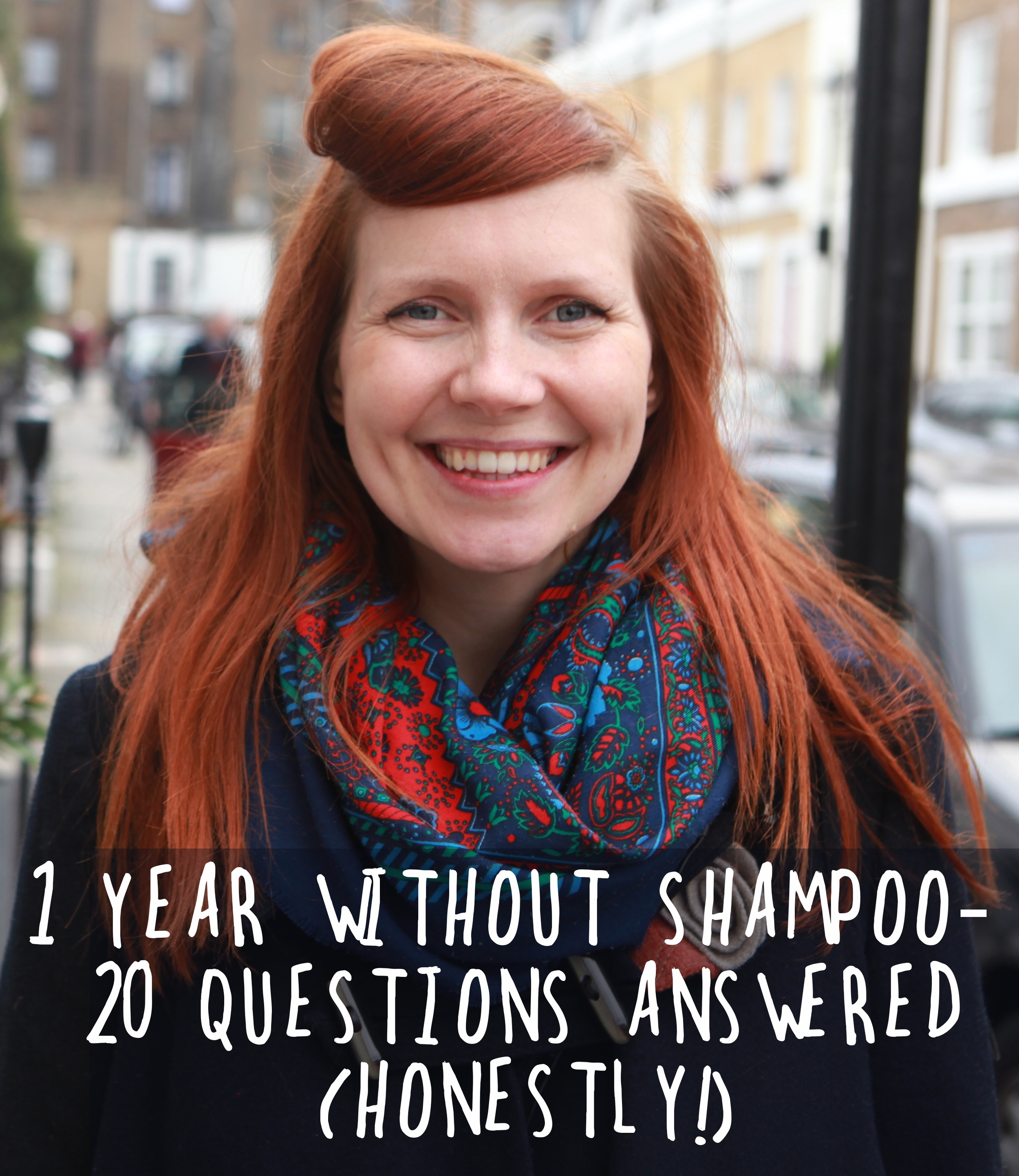 A year without shampoo - FAQ's answered honestly!