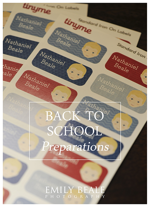 Back to School Preparations… » Emily Beale Photography