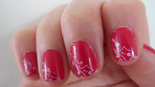 Nail Stamping Frebch Manicure